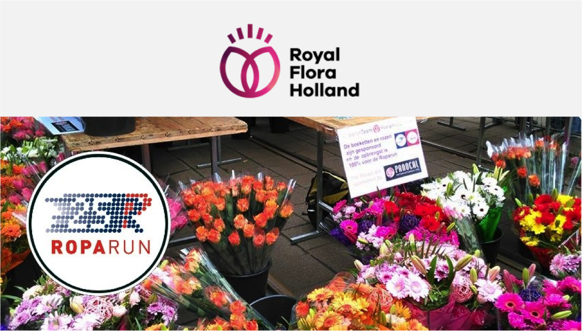 Sponsoring Royal FloraHolland Roparunteam